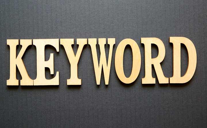 キーワード選定する時はキーワードの種類に注意