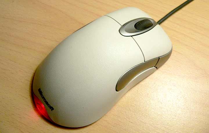 マウス本体と周辺の状態を確認する
