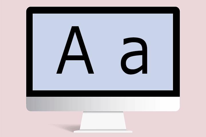 【Windows10】フォント(文字)がにじむ・汚い時の対処法
