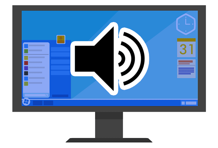 【Windows10】タスクバーのスピーカー・音量アイコンが反応しない時の対処法